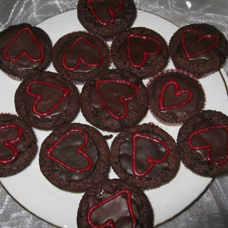 Schoko-Schoko-Muffins