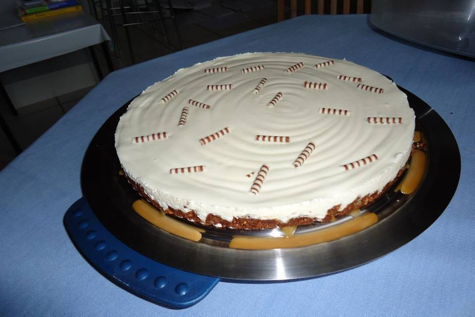 Karamell-Cheesecake Rezept