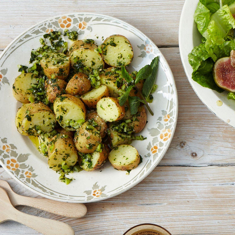 Zum Grillen: Kartoffelsalat