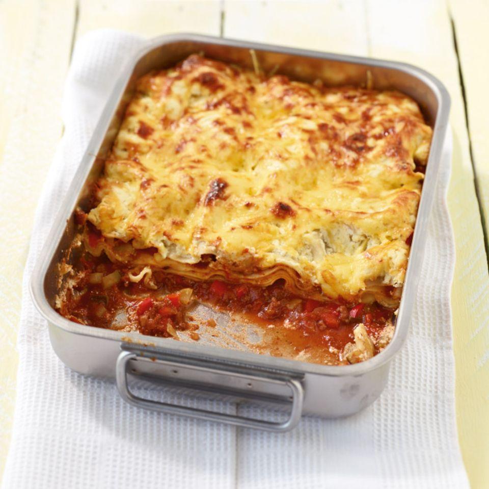 Rezepte für Lasagne