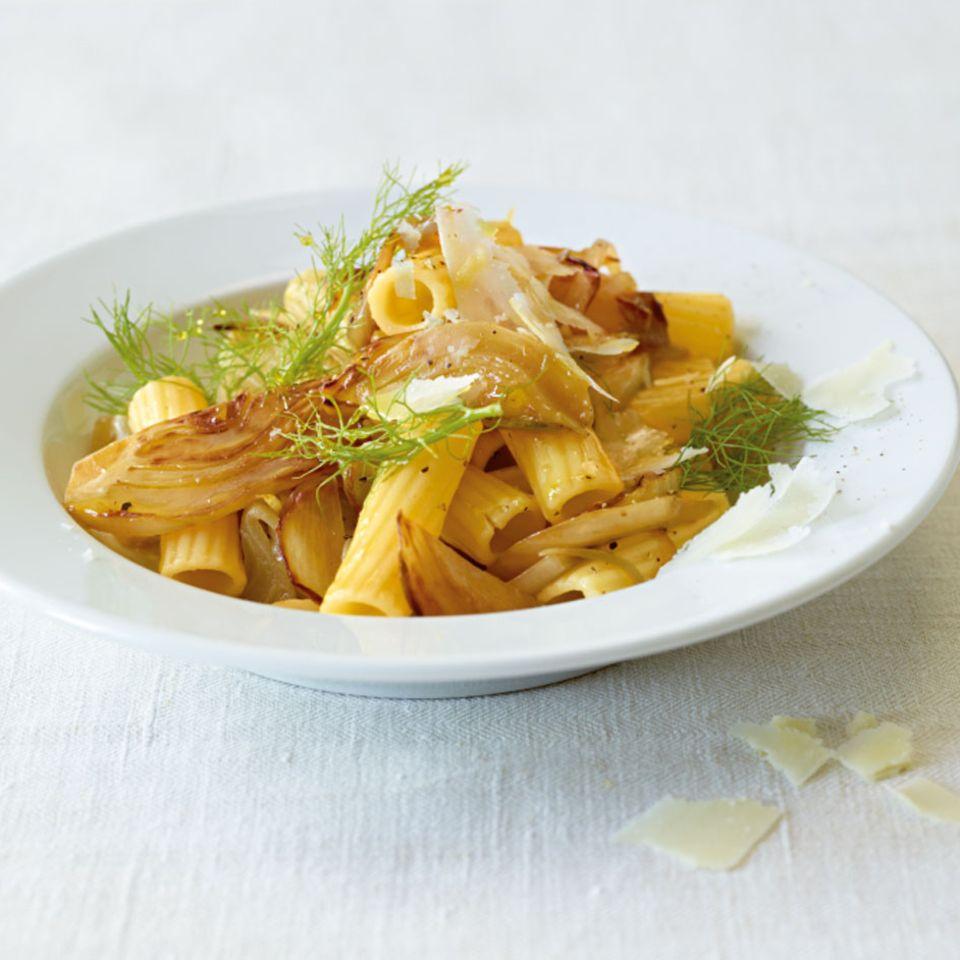 Fenchel mit Pasta und Reis