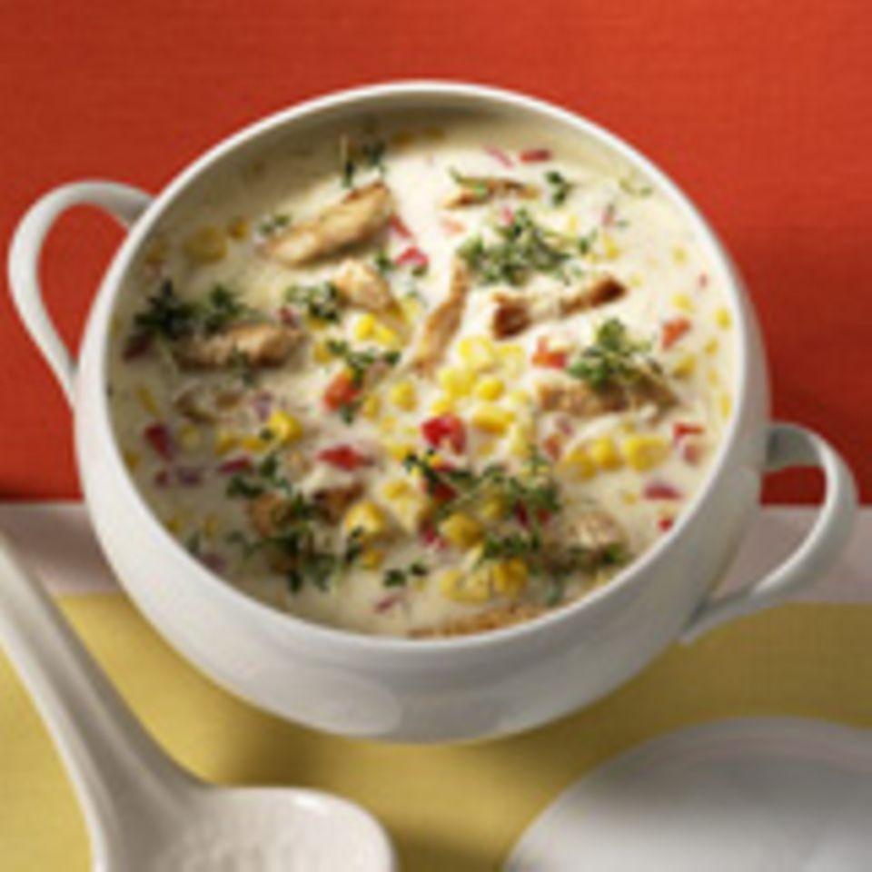 Suppen und Eintöpfe mit Mais