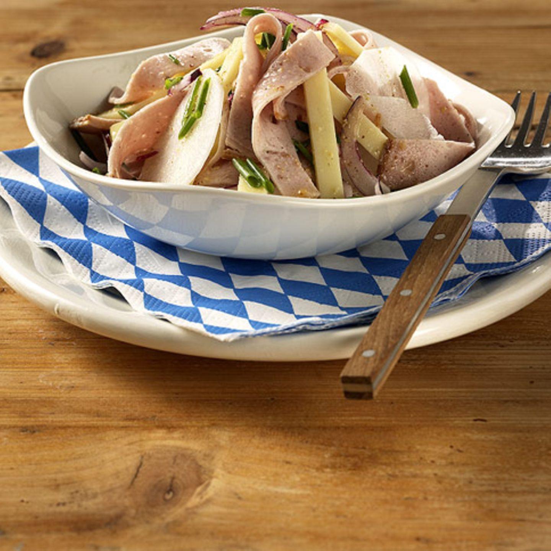 Käse-Rettich-Salat