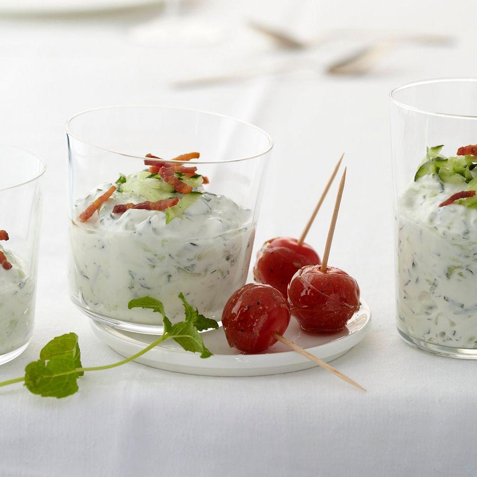 Gurken: Rezepte für Saucen, Dips & Co.