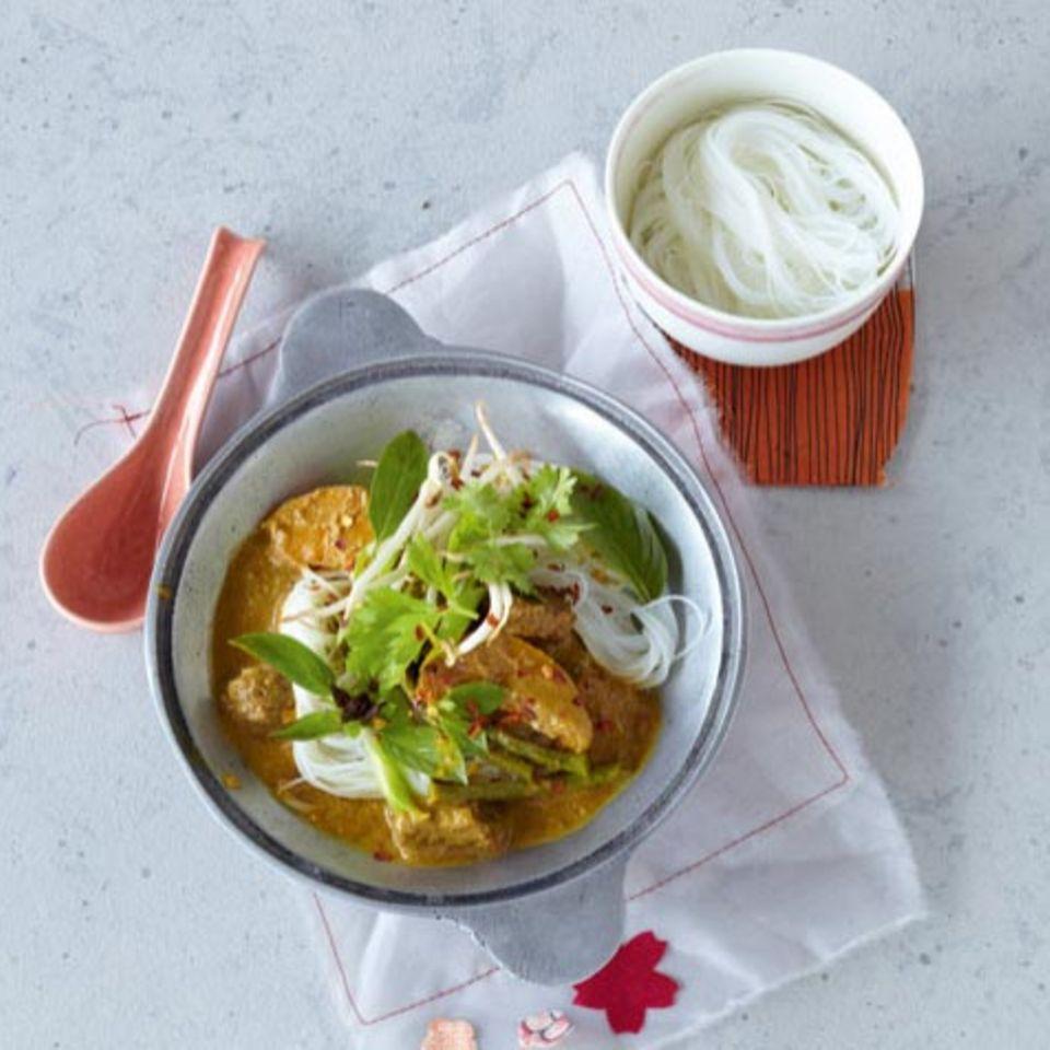 Basilikum: Rezepte mit Thai-Basilikum