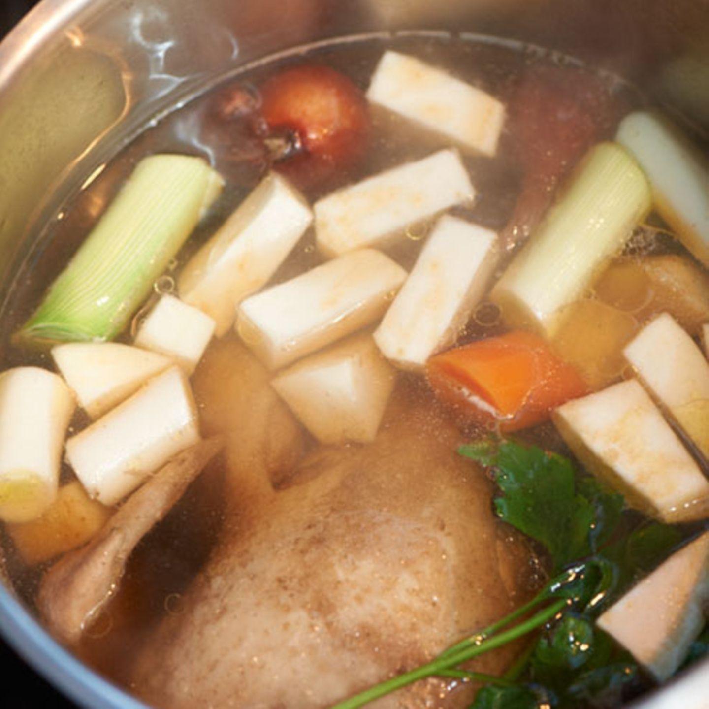 Rezepte mit Suppenhuhn
