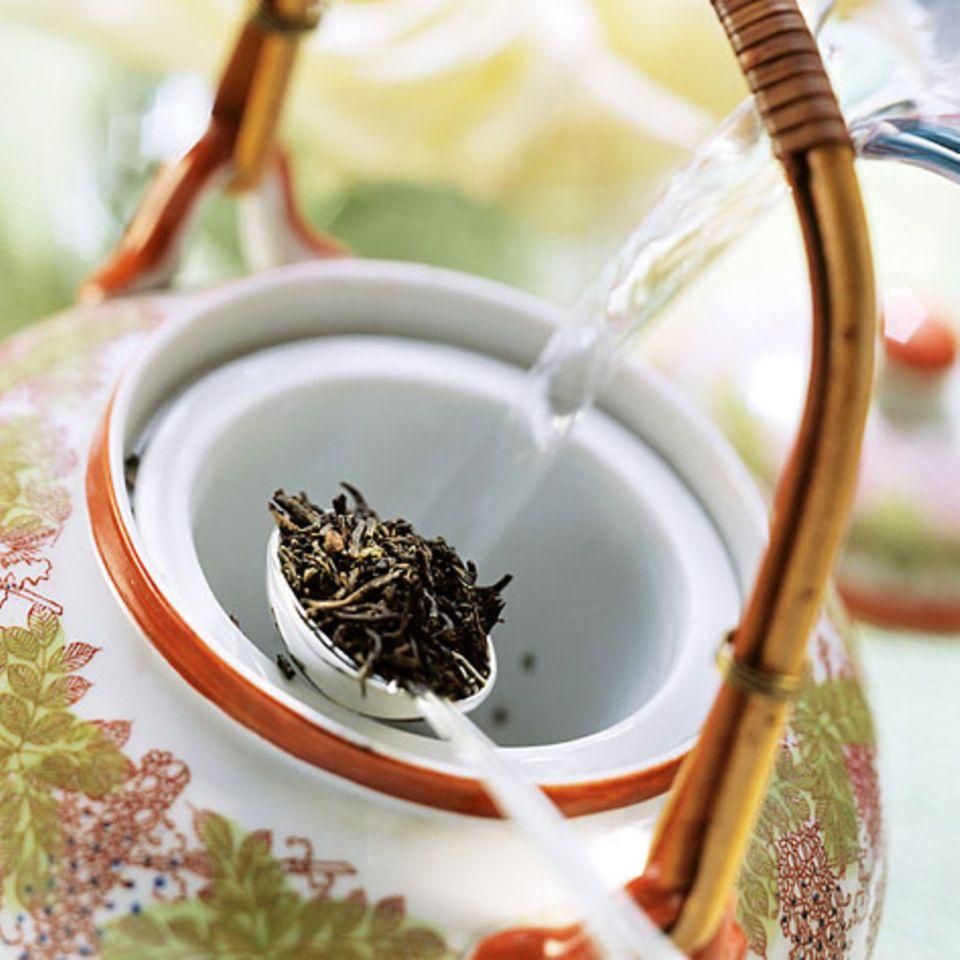 Ingwer: Tees und Drinks
