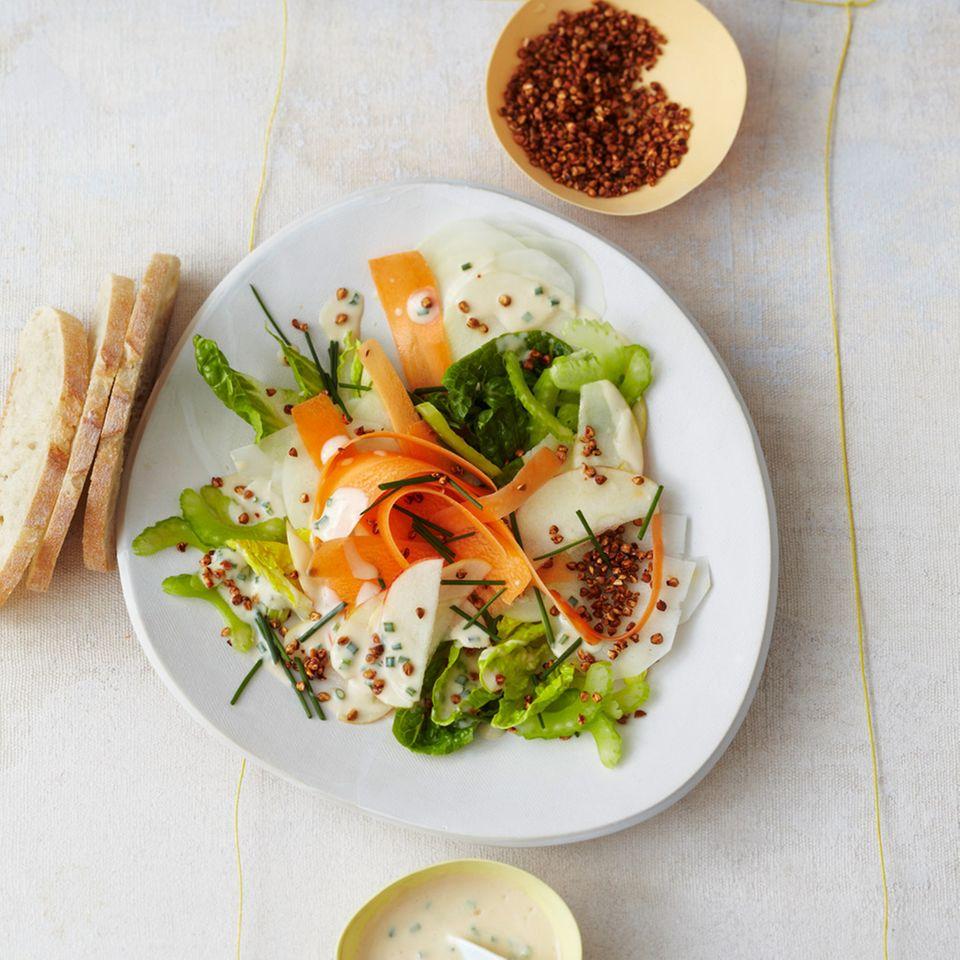 Rezepte: Möhren im Salat