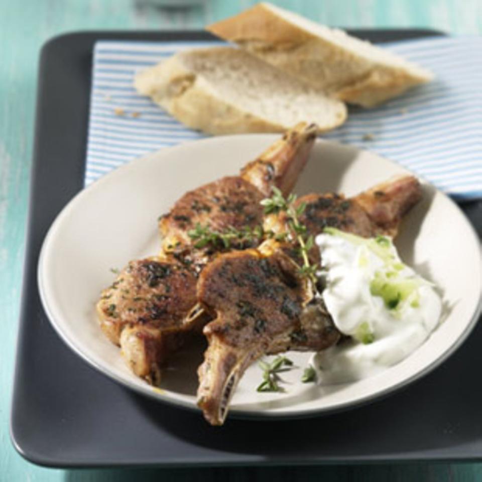 Griechische Lammkotelettes