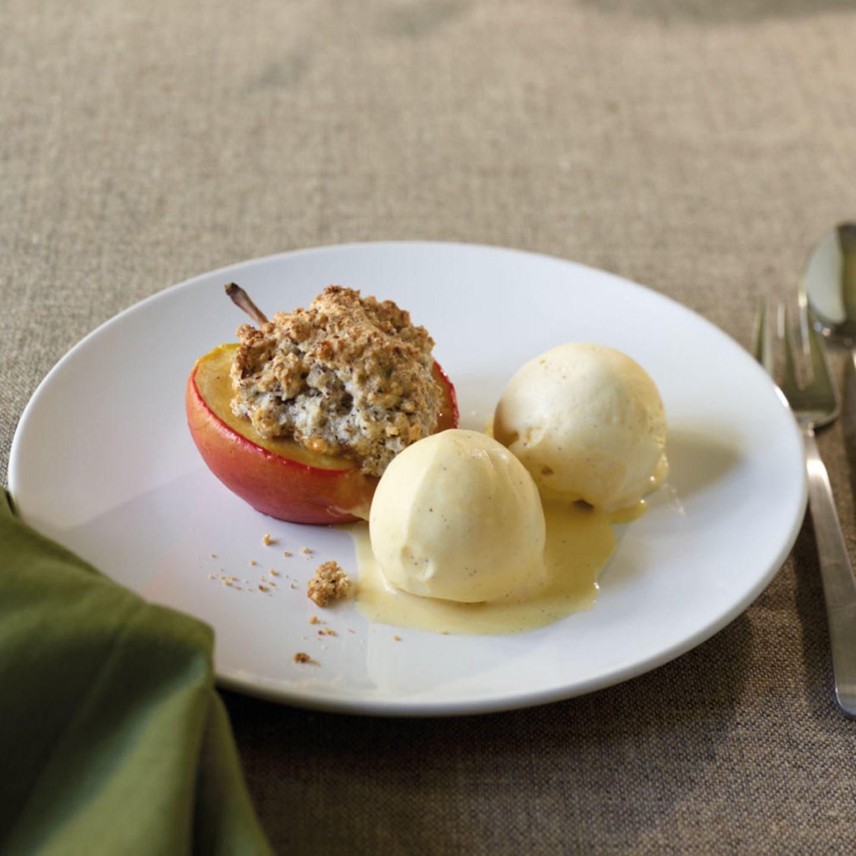 Desserts mit Apfel