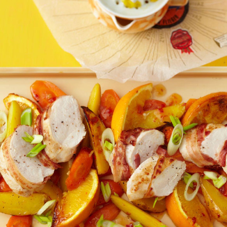 Silvestermenü: Fruchtiges mit Apfelsine