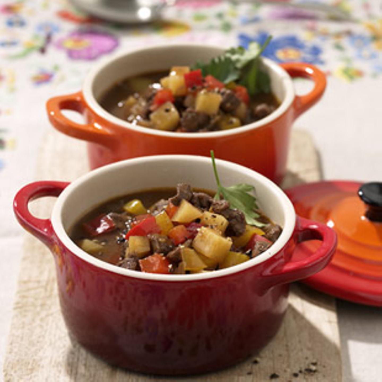 Rezepte: Suppe mit Rind