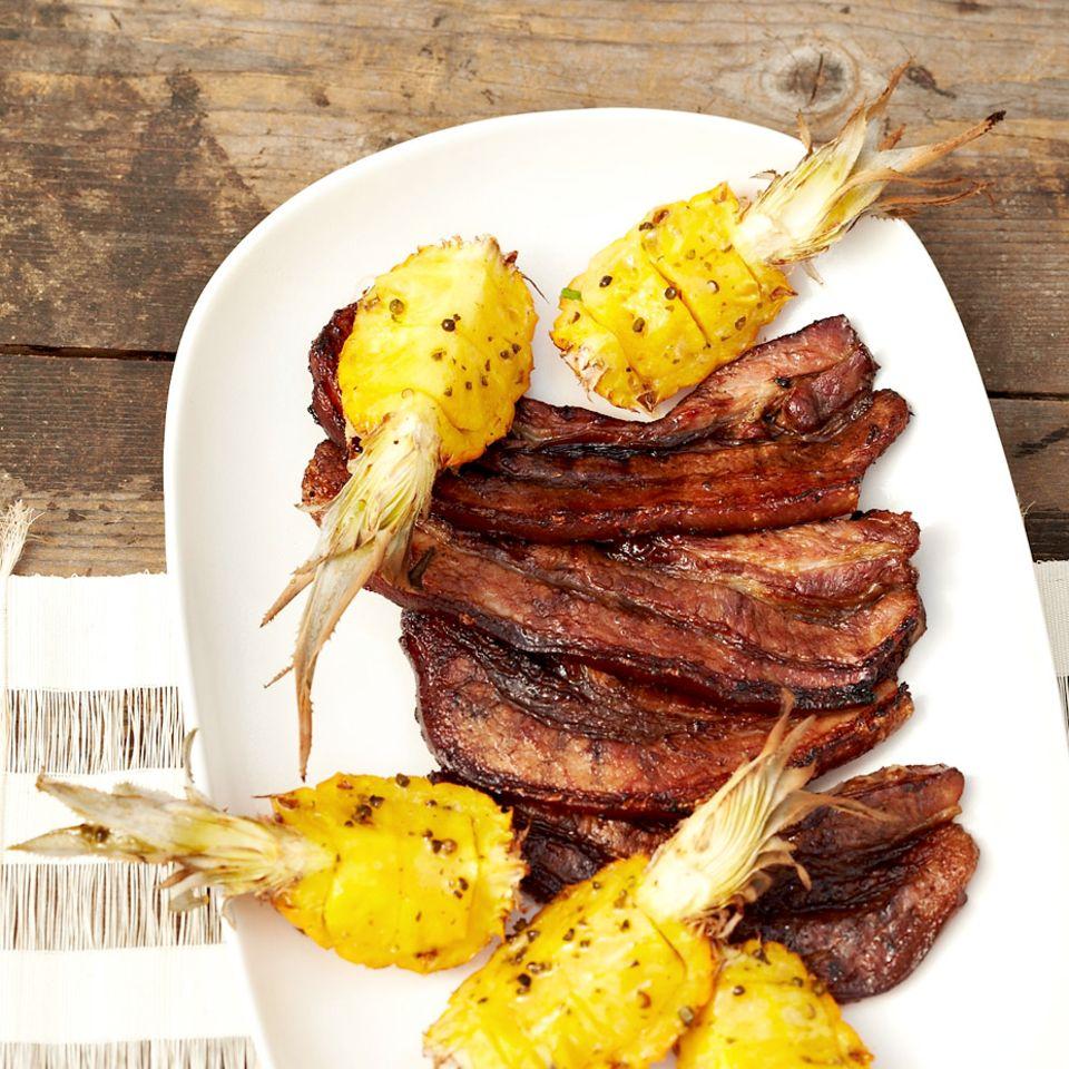 Rezepte: Schweinefleisch mit Sojasauce