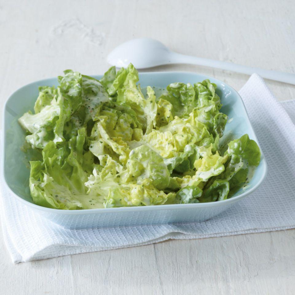 Rezepte mit Eichblattsalat