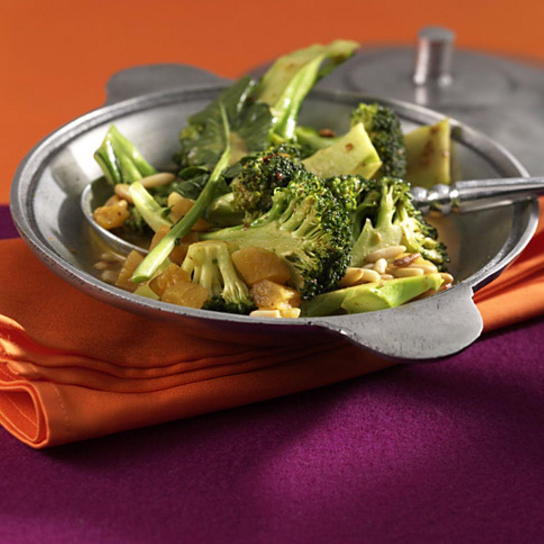 Vegetarische Gerichte mit Broccoli