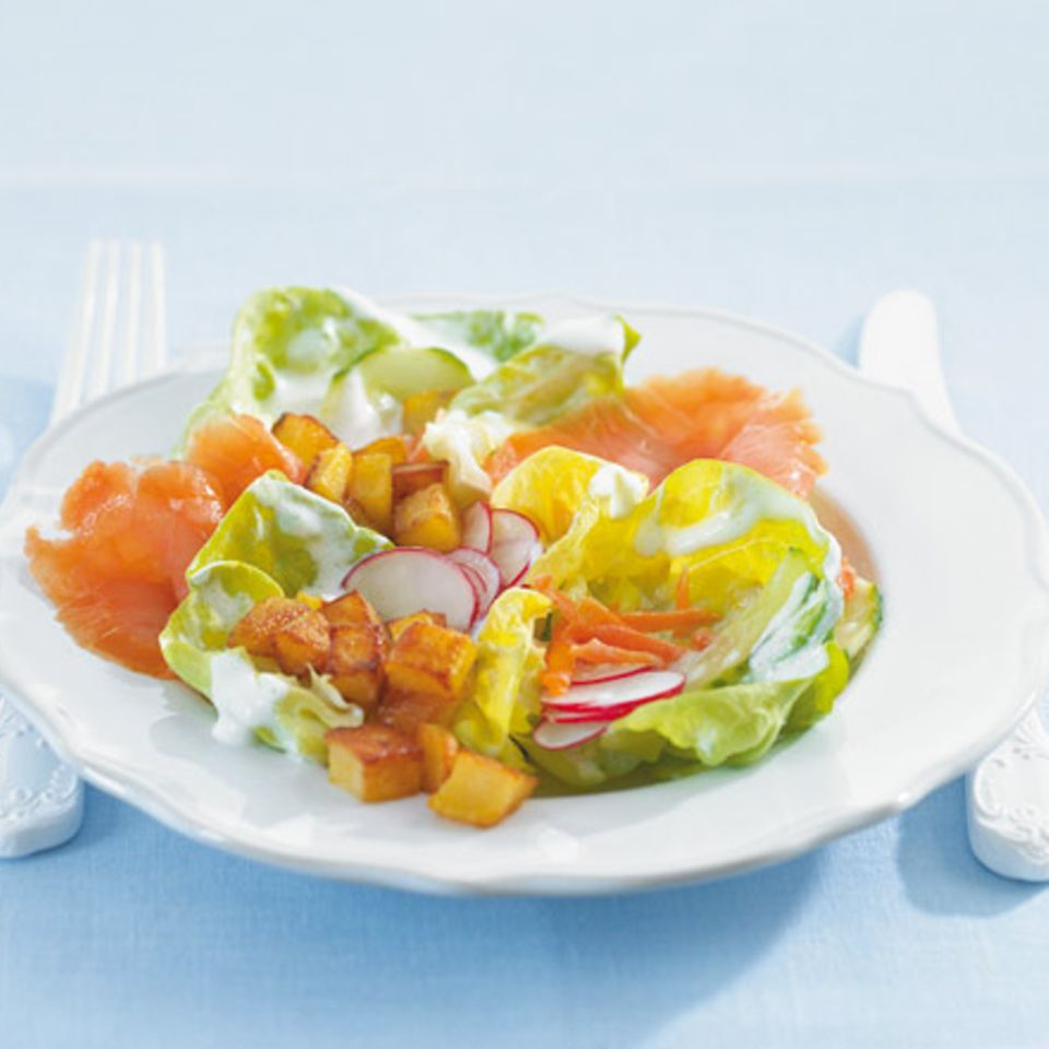 Rezepte mit Kopfsalat