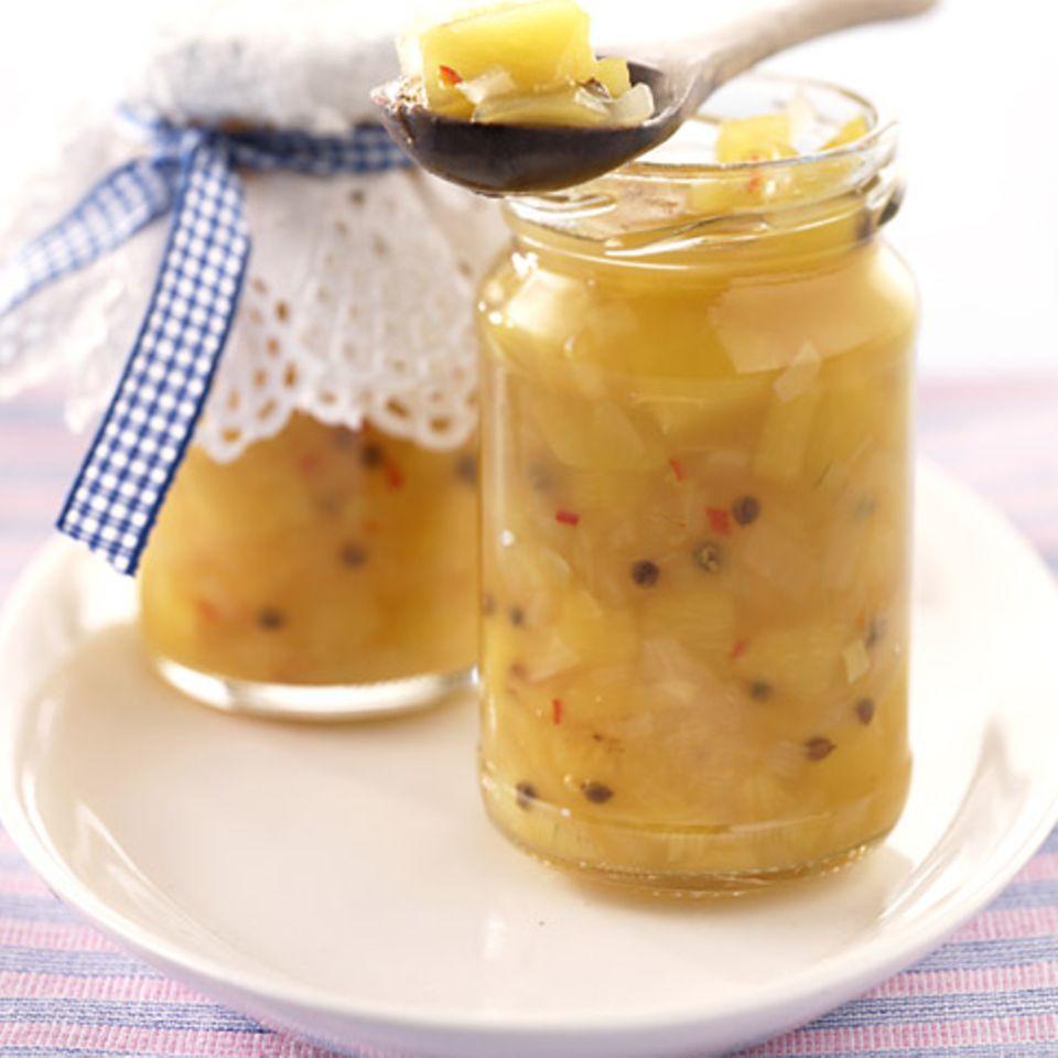 Rezepte: Eingemachtes mit Pfirsich