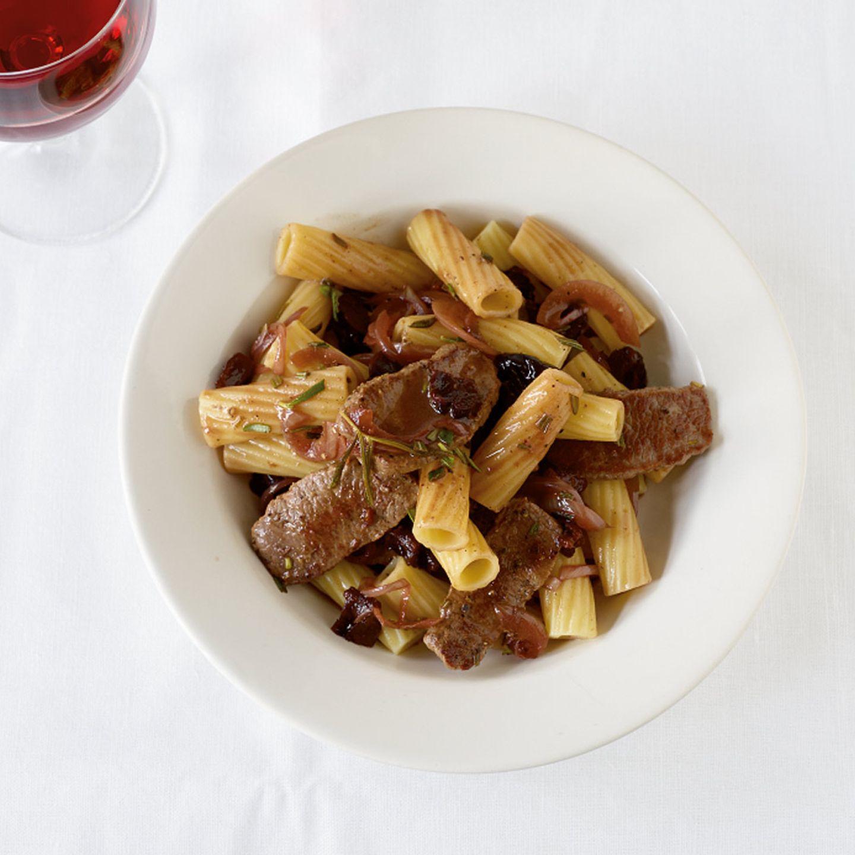 Rezepte: Fleisch mit Pflaumen