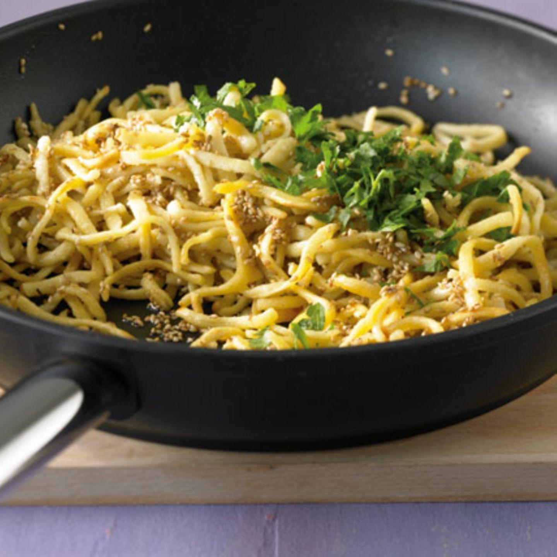Kräuter in Pasta