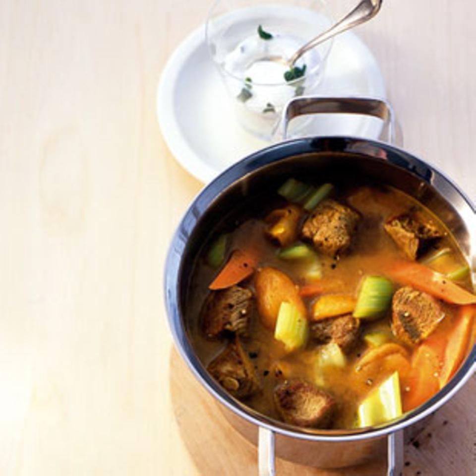 Rezepte: Eintopf mit Lamm