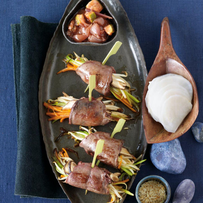 Hauptgerichte mit Kompotten