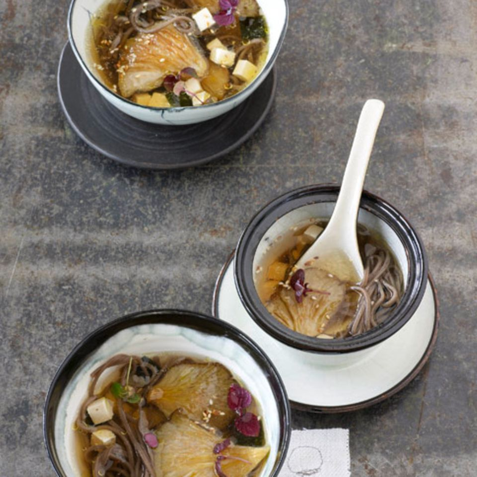 Rezepte: Asiatische Suppe