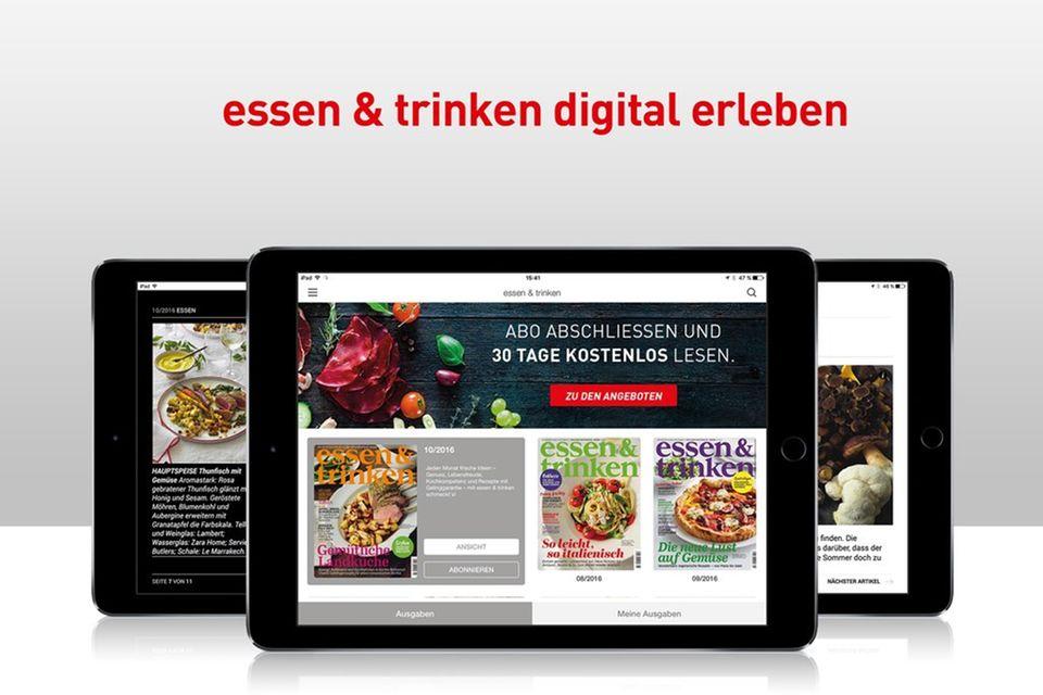 »essen & trinken« jederzeit mobil lesen