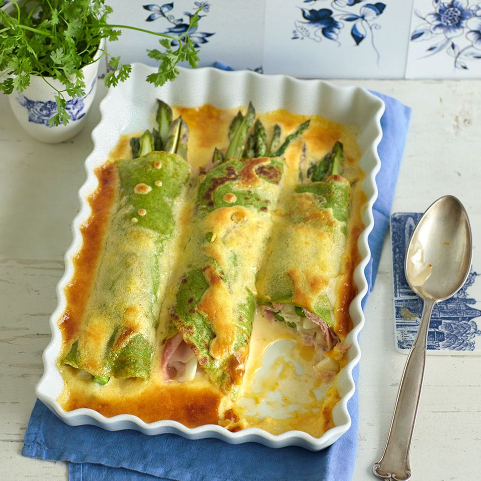 Rezepte: Spargel aus dem Ofen