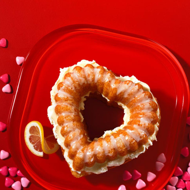 Valentinstag: Backen mit Herz