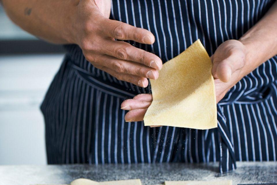 Nudelteig für Lasagne (Grundrezept)
