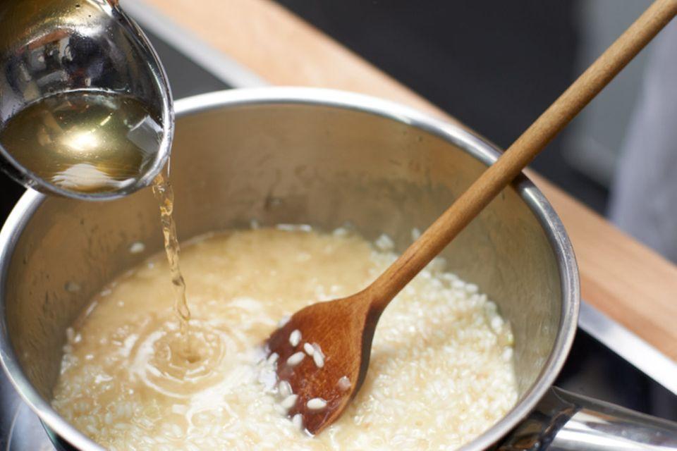 Risotto Rezept mit Parmesan