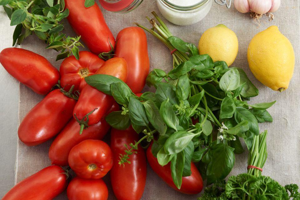 Gremolata-Tomaten