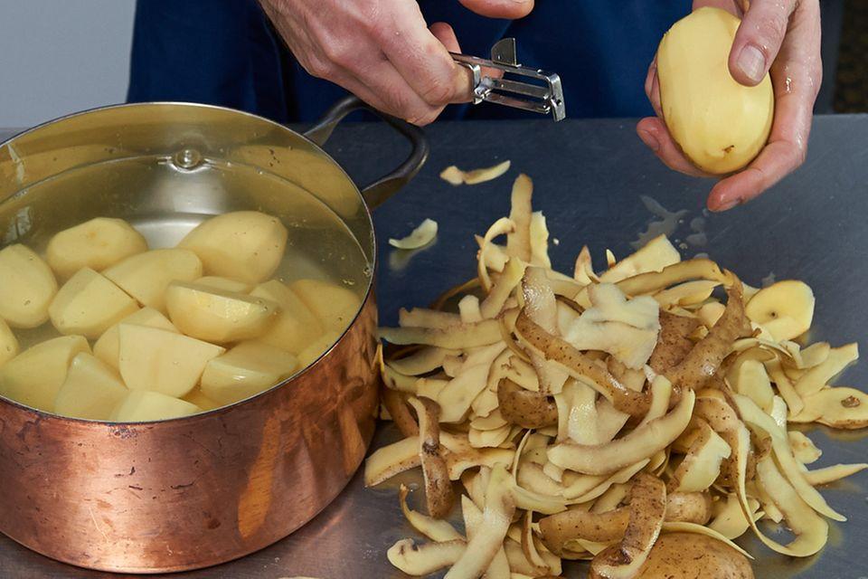 Limetten-Avocado-Püree