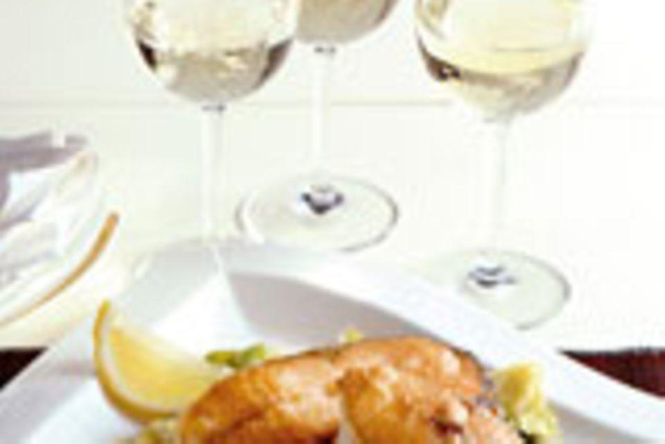 Fisch mit Weißwein
