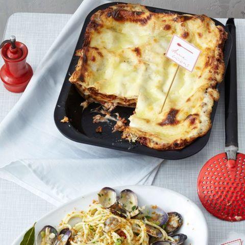 Lasagne mit Mozzarela-Béchamel