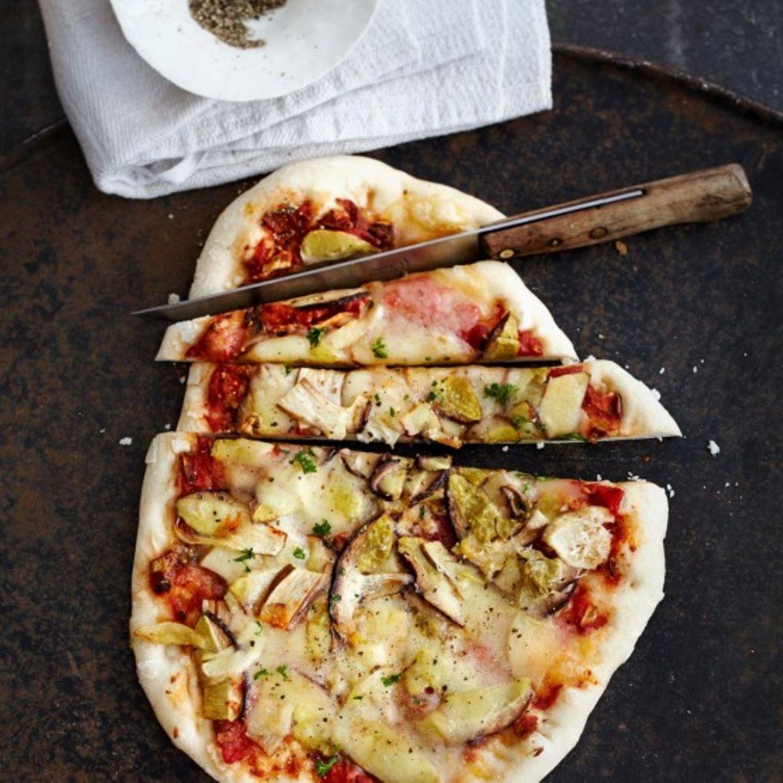 Steinpilz-Pizza