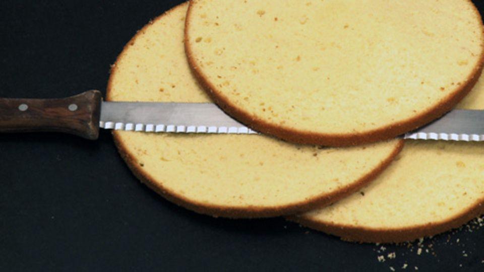 Biskuit Grundrezept für Torten: Wiener Masse