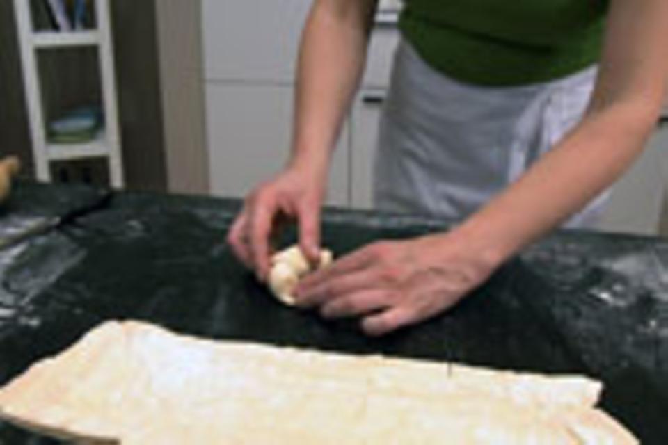 Croissants formen