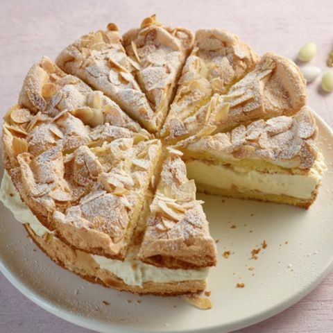 Zitronen-Sahne-Torte