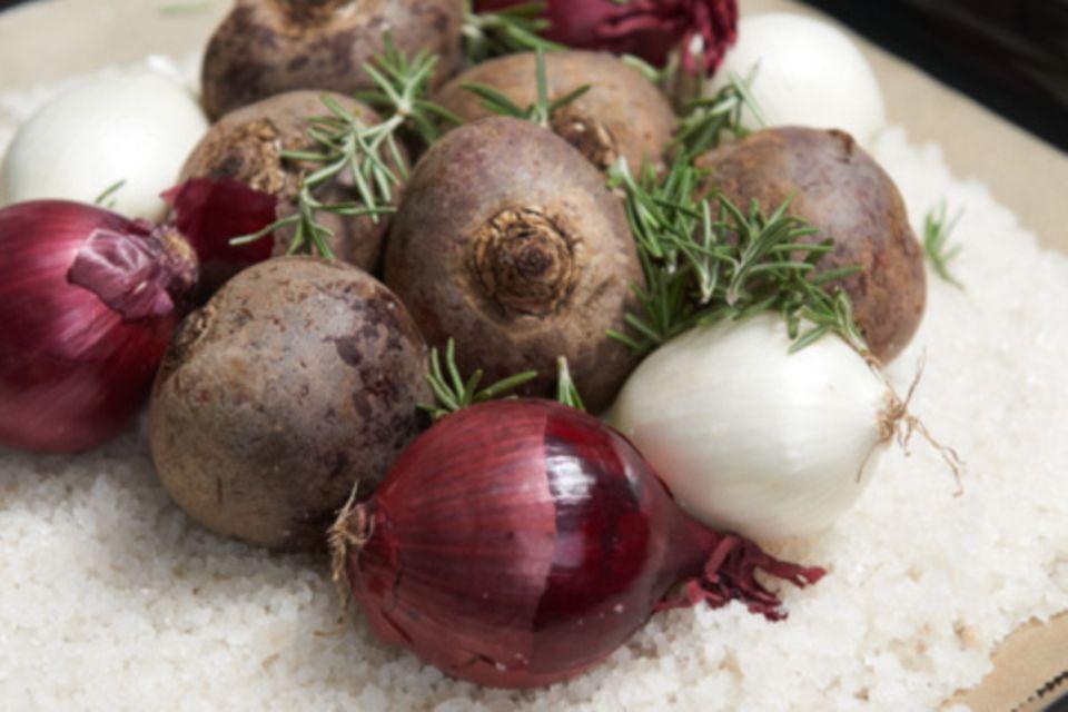 Wie macht man eigentlich... Gemüse im Salzteig