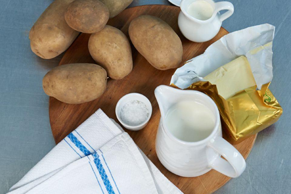 Wie macht man... Kartoffelpüree