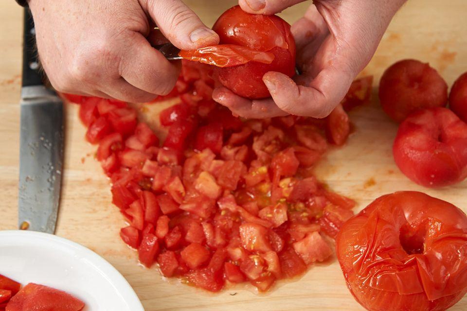 Wie macht man ... Tomatensugo