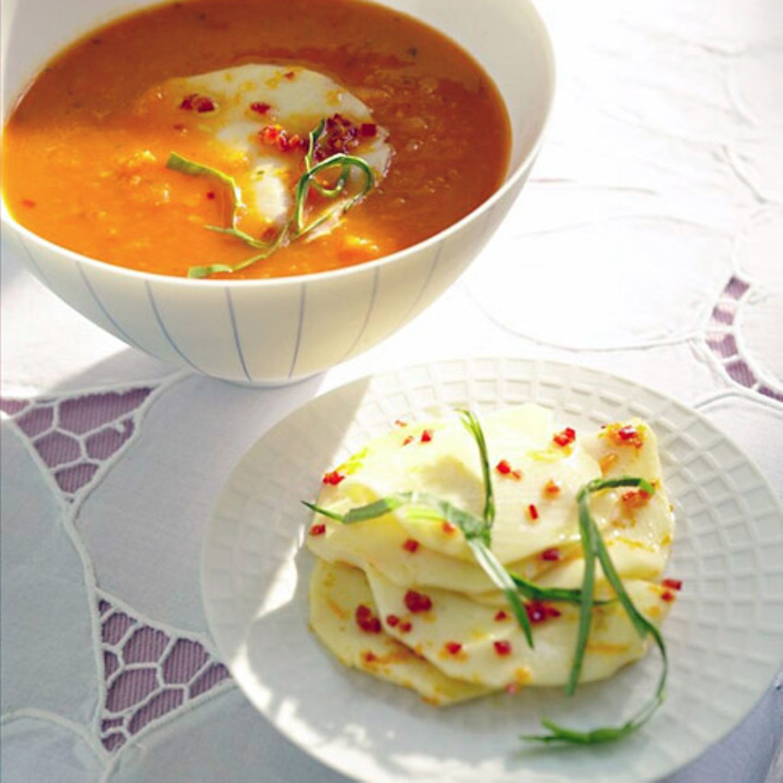 Rezepte: Möhren in Suppen und Eintöpfen