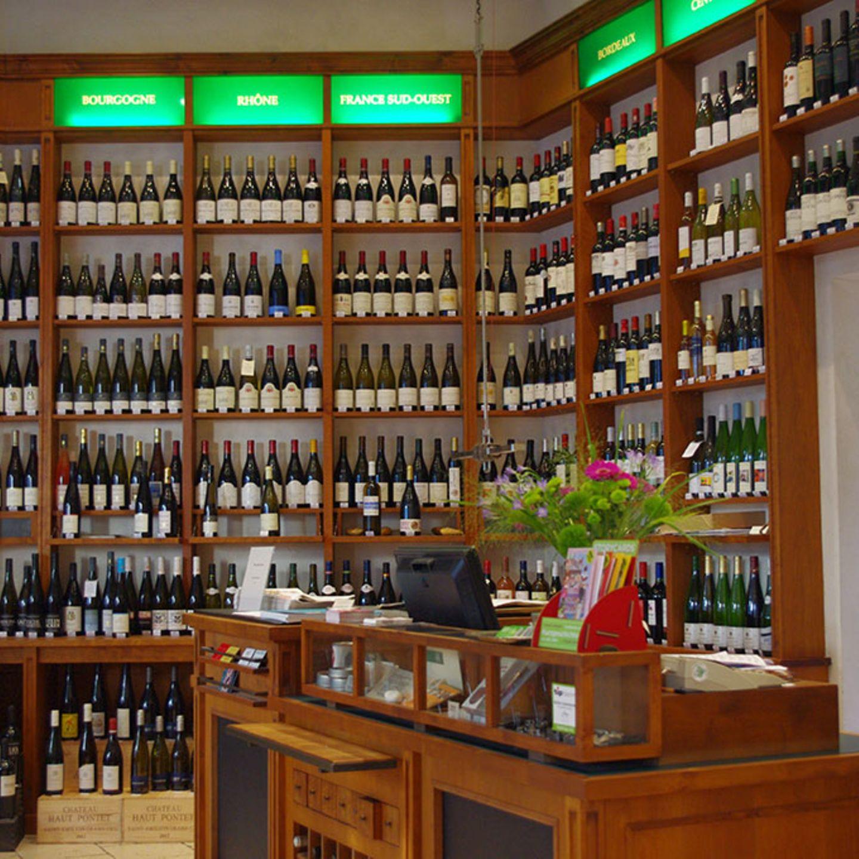 Das Ladengeschäft der Wein & Glas Compagnie in Berlin.