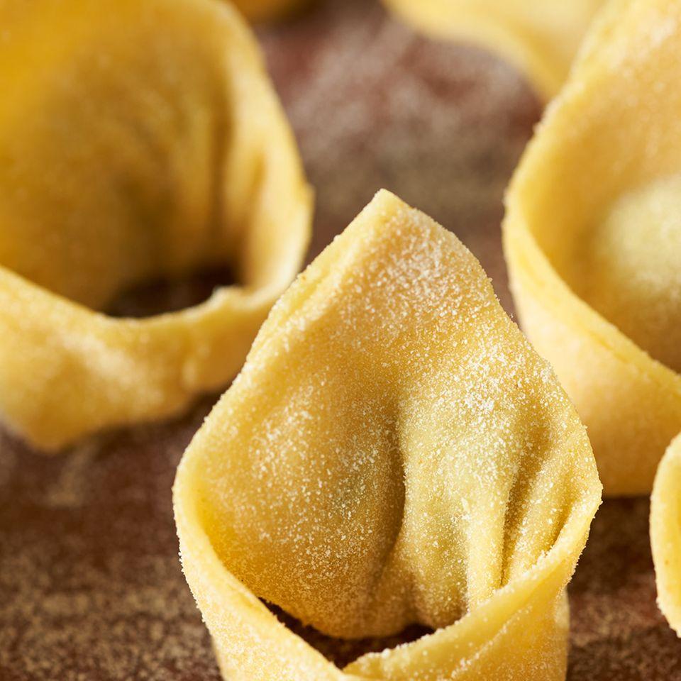 Pasta-Sorten auf einen Blick