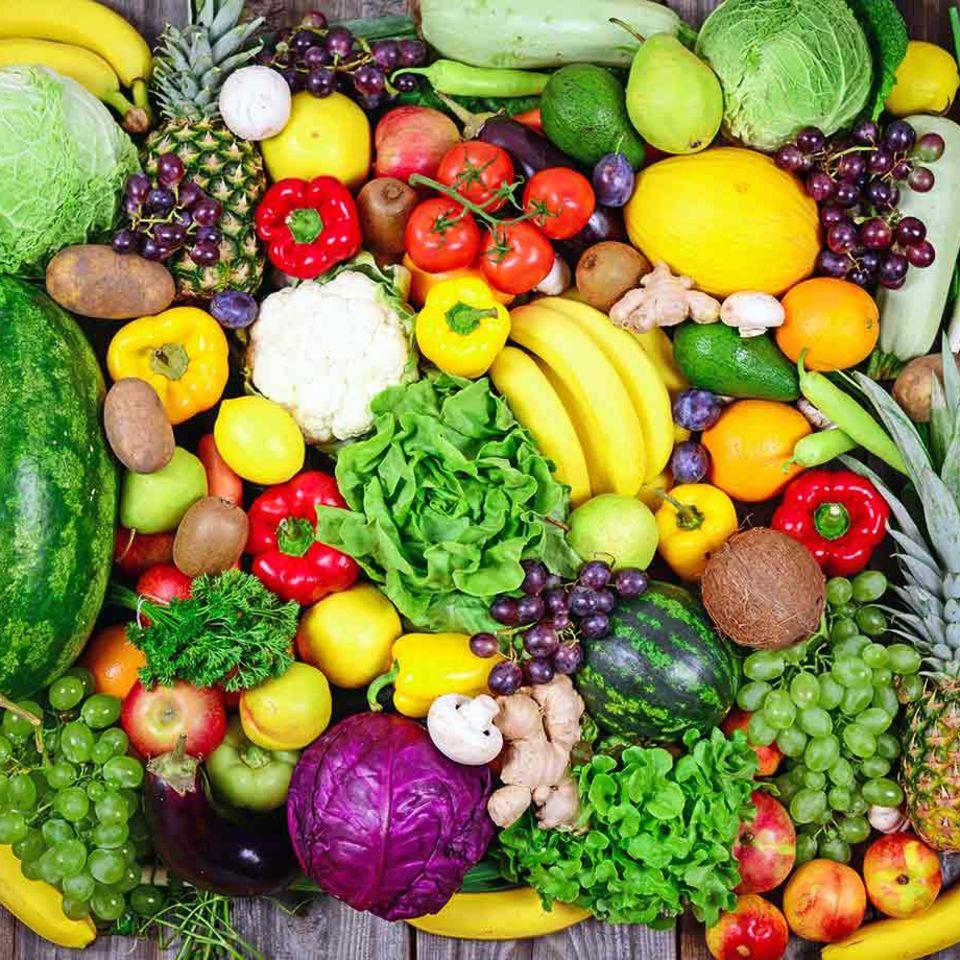 Gesund essen: Fünf am Tag