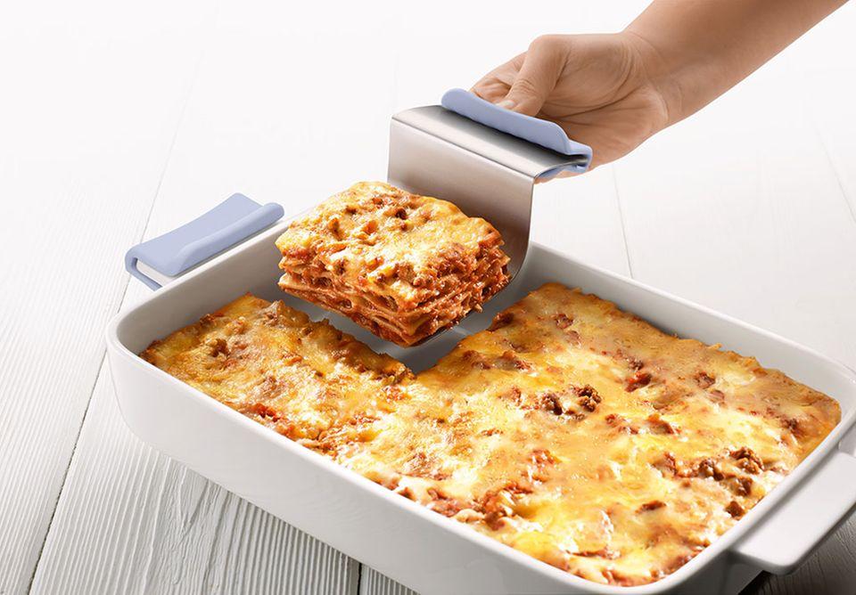 Lasagneform mit Lasagneheber aus der Kollektion Passion Pasta.