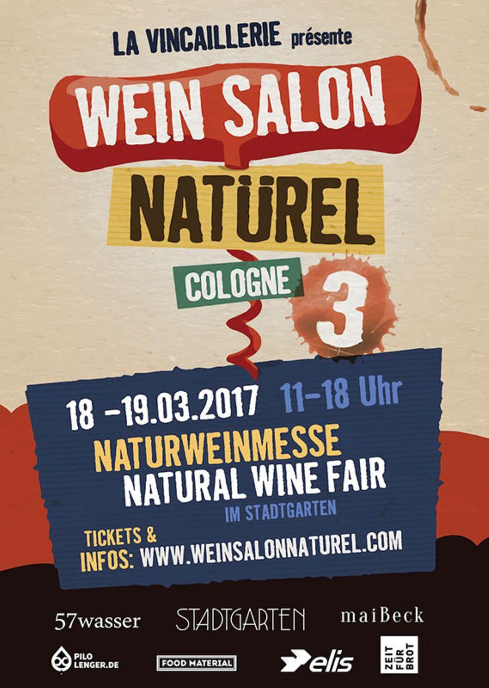 """Zum dritten Mal gibt es auf der Messe """"Wein Salon Natürel"""" in Köln spannende Naturweine zu entdecken"""