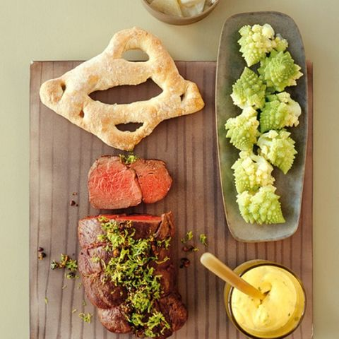 Chateaubriand mit Sauce Béarnaise