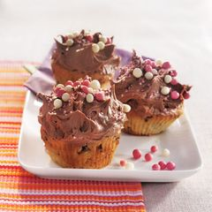 Cupcakes mit Schoko-Frosting